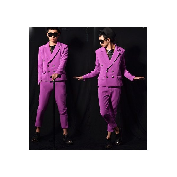 b系 メンズ ダンス衣装 セットアップ 細身 男性用 演出服 練習着|e-dance|02