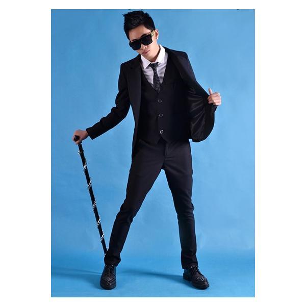 b系 メンズ ダンス衣装 三セット 細身 男性用 演出服 練習着|e-dance