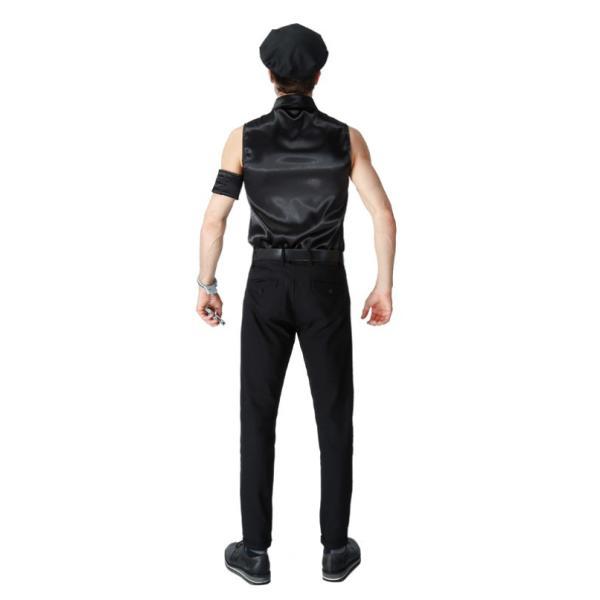 ハロウィン コスプレ 警察  警官 仮装 制服 メンズ クリスマス イベント パーティーグッズ|e-dance|02