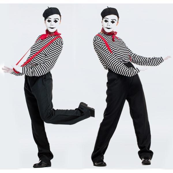 ハロウィン コスプレ ピエロ服 マジーシャーン マジック レディース ク リスマス 仮装 イベント パーティー ハロウィン衣装|e-dance|04