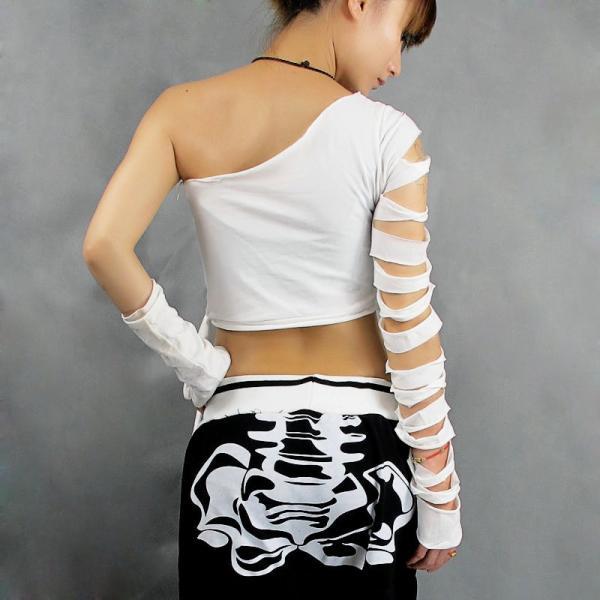 ダンス衣装 tシャツ ジャズダンス  レディース ファッション ストリートダンス お買い得 ダンス衣装 ボリュームたっぷり 派手 ダンス衣装|e-dance|03
