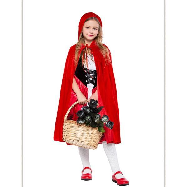 赤ずきん コスプレ仮装 ハロウィン Halloween 衣装 コスチューム マント 大人用 レディース パーティー クリスマス|e-dance|02