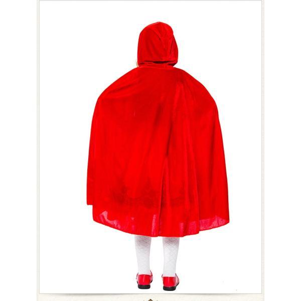 赤ずきん コスプレ仮装 ハロウィン Halloween 衣装 コスチューム マント 大人用 レディース パーティー クリスマス|e-dance|06