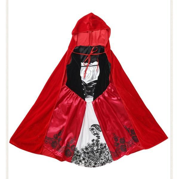 赤ずきん コスプレ仮装 ハロウィン Halloween 衣装 コスチューム マント 大人用 レディース パーティー クリスマス|e-dance|07