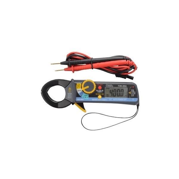 オーム電機TCM-400Aデジタルクランプメーター 品番 04-1892TCM400A