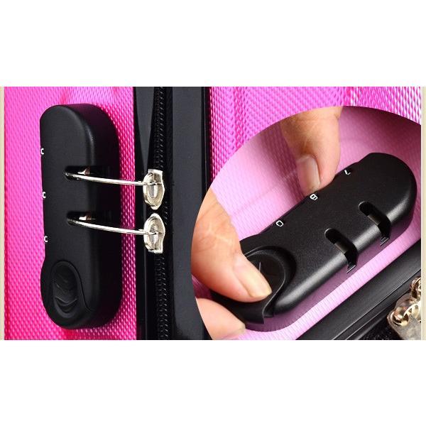 スーツケース キャリーケース キャリーバッグ 機内持ち込み tk17 超軽量 16インチ ssサイズ おしゃれ かわいい 出張用 旅行バック|e-do-net|11