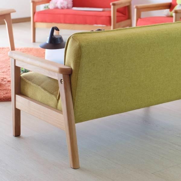 キッズソファ 子供部屋家具 子供用 木製 カルボ キッズ ソファ L  (IS)|e-dollar|06