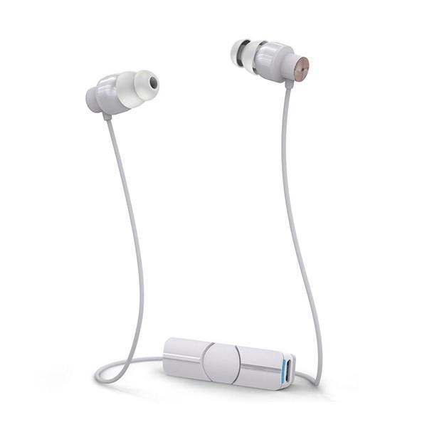 Bluetooth イヤホン iFrogz(アイフロッグズ) impulse wireless ホワイトローズゴールド (MOP-EP-000004)Bluetooth ワイヤレス イヤホン (送料無料)|e-earphone