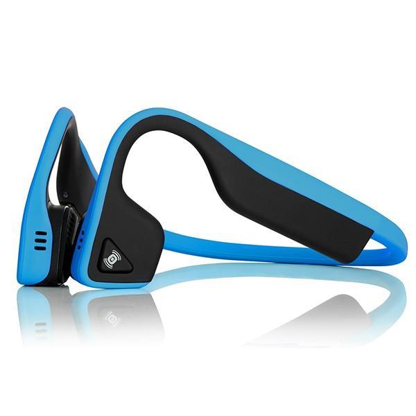 骨伝導イヤホン Aftershokz TREKZ Titanium ブルー (送料無料)|e-earphone