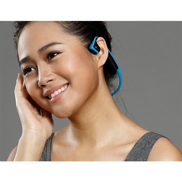 骨伝導イヤホン Aftershokz TREKZ Titanium ブルー (送料無料)|e-earphone|03