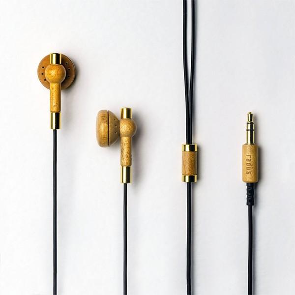 ウッドハウジングイヤホン インナーイヤー  radius HP-WHF11Mx (Wood Earphone)