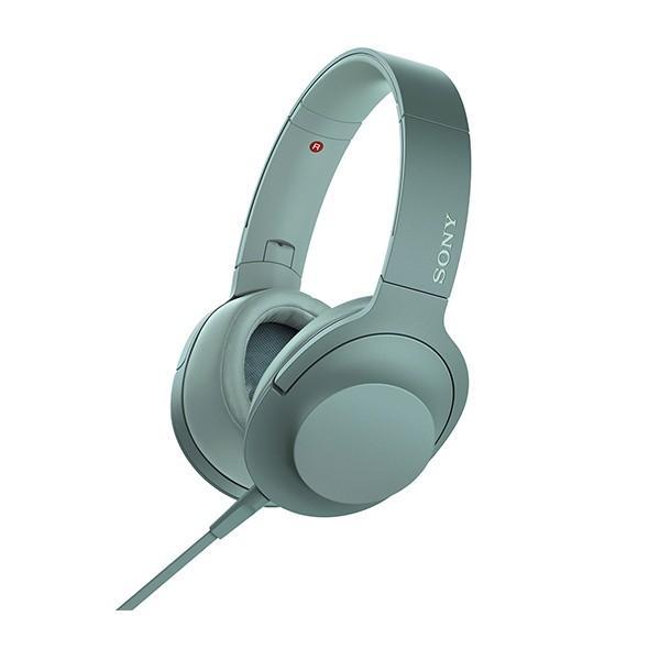 おしゃれ 密閉型 高音質 ヘッドホン SONY ソニー MDR-H600A GC ホライズングリーン
