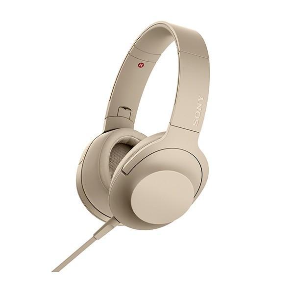 おしゃれ 密閉型 高音質 ヘッドホン SONY ソニー MDR-H600A NC ペールゴールド