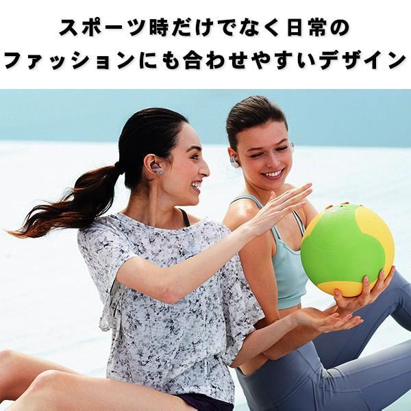 完全ワイヤレスイヤホン ノイズキャンセリング Bluetooth イヤホン SONY ソニー WF-SP700N BM ブラック コードレスイヤホン|e-earphone|02
