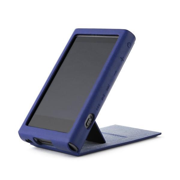 (在庫限り)Miter(ミター)MITER NW-A30シリーズ用PUレザーケース ブルー(MT-A30-CASE-NVY) e-earphone 02