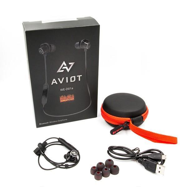 Bluetooth ワイヤレス イヤホン AVIOT WE-D01a-BK ブラック (送料無料)|e-earphone|06