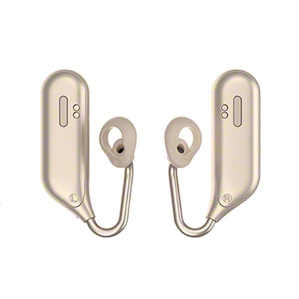 完全ワイヤレス ヘッドセット 左右分離型 両耳 通話用 SONY ソニー Xperia Ear Duo XEA20JP N ゴールド (送料無料)|e-earphone|03