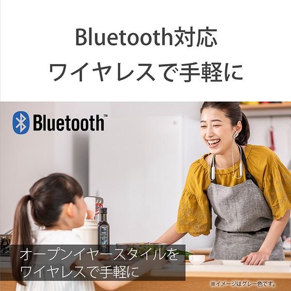 ながら聞き ワイヤレス イヤホン SONY ソニー SBH82DJP L ブルー Bluetooth リモコン付き ハンズフリー通話 (送料無料) e-earphone 04