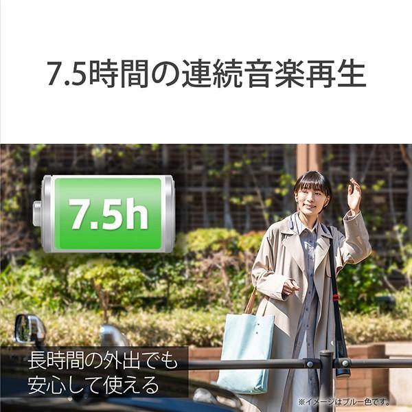 ながら聞き ワイヤレス イヤホン SONY ソニー SBH82DJP L ブルー Bluetooth リモコン付き ハンズフリー通話 (送料無料) e-earphone 05