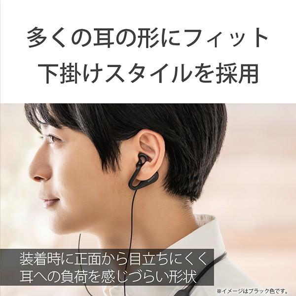ながら聞き ワイヤレス イヤホン SONY ソニー SBH82DJP L ブルー Bluetooth リモコン付き ハンズフリー通話 (送料無料) e-earphone 06