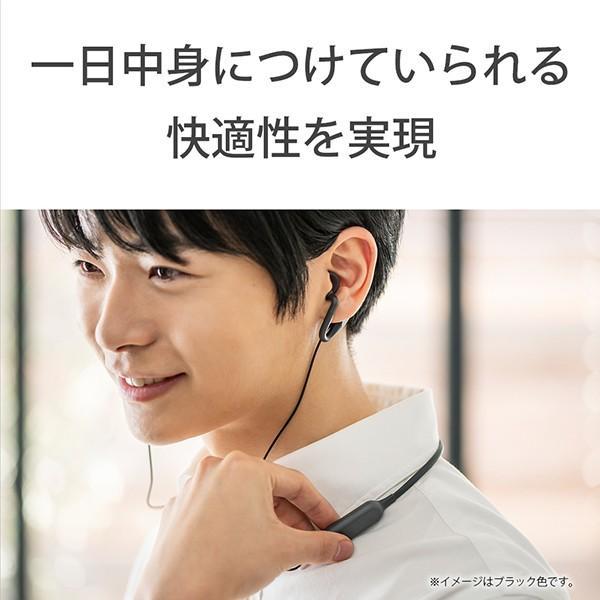 ながら聞き ワイヤレス イヤホン SONY ソニー SBH82DJP L ブルー Bluetooth リモコン付き ハンズフリー通話 (送料無料) e-earphone 07