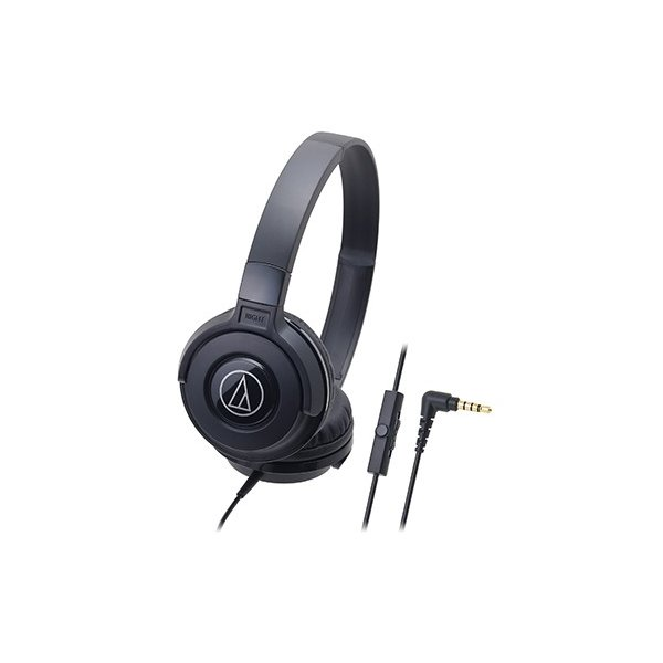 audio-technica(オーディオテクニカ) ATH-S100iS BK(ブラック)(マツコの知らない世界で紹介されました(2016年6月7日放送分))