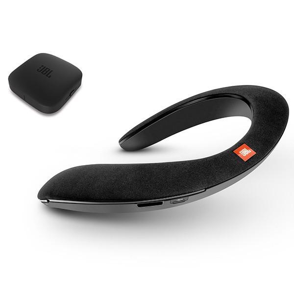 ウェアラブルネックスピーカー JBL SOUND GEAR BTA ブラック|e-earphone