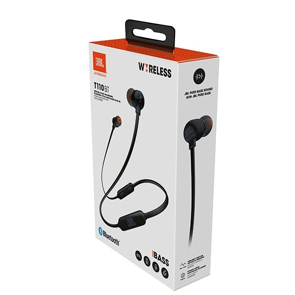 Bluetooth イヤホン JBL T110BT ブラック ワイヤレス イヤホン 両耳 マグネット e-earphone 06