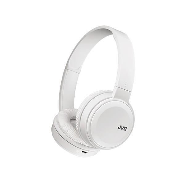(在庫限り)JVC HA-S38BT-W ホワイト Bluetoothワイヤレスヘッドホン