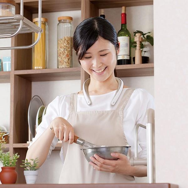 ウェアラブルネックスピーカー JVC NAGARAKU SP-A10BT-W ホワイト (送料無料) e-earphone 04
