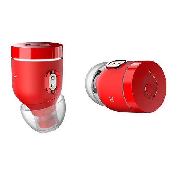 完全独立Bluetoothワイヤレスイヤホン crazybaby Air by crazybaby(NANO)MC7B6GT/Aレッド