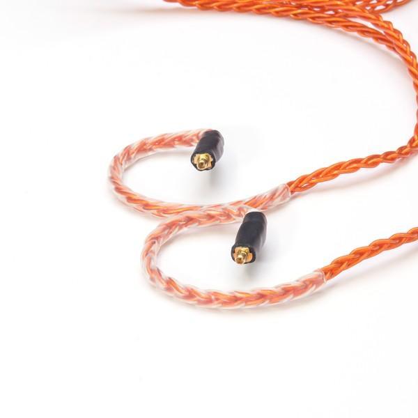 Labkable(ラブケーブル)Orange Road MMCX(8芯)1.2m(3.5mmステレオミニ / MMCX)