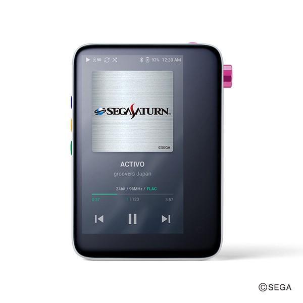 (限定品) groovers japan ACTIVO CT10 セガサターン シロ (ACTIVO-CT10-SS-MST) デジタルオーディオプレーヤー mp3プレーヤー (送料無料) e-earphone 02