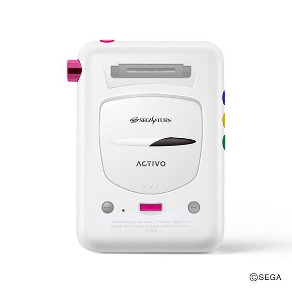 (限定品) groovers japan ACTIVO CT10 セガサターン シロ (ACTIVO-CT10-SS-MST) デジタルオーディオプレーヤー mp3プレーヤー (送料無料) e-earphone 03