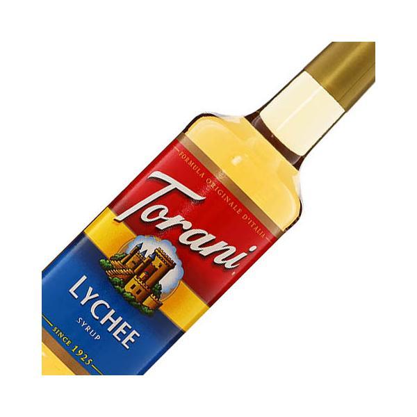 シロップ トラーニ ライチ シロップ 750ml フレーバー シロップ 割り材 syrup