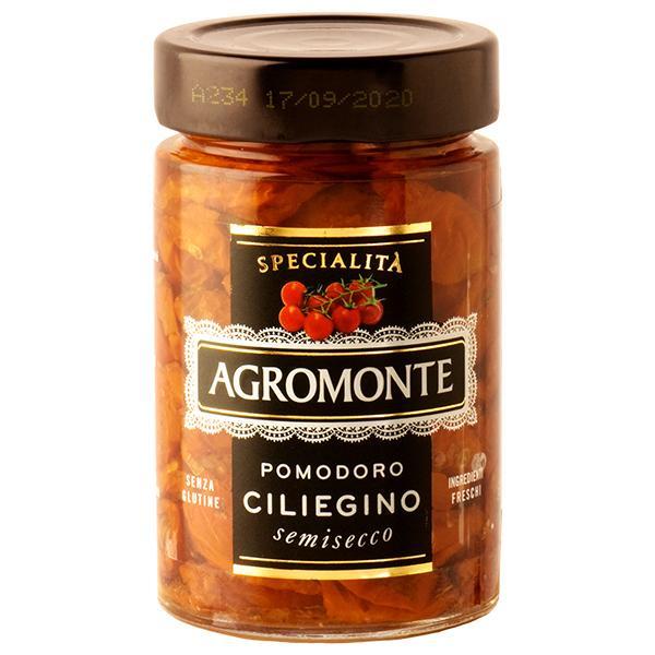 セミドライトマト 乾燥トマト アグロモンテ セミドライトマト オイル漬け チェリートマト 200g 食品 包装不可