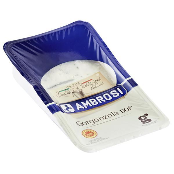 【訳あり 賞味期限間近の為70%OFF・10/29まで】イタリア産 青カビタイプ チーズ アンブロージ ゴルゴンゾーラ ドルチェ 150g 食品 包装不可 要クール便