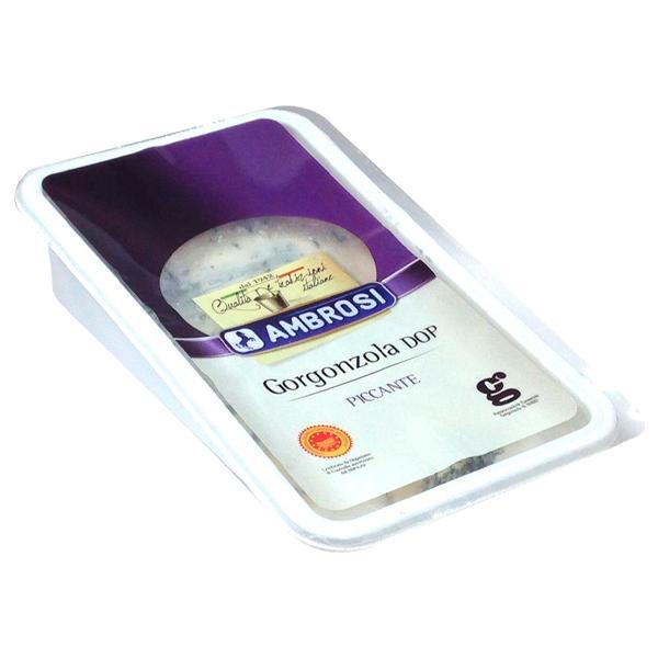 【訳あり 賞味期限間近の為70%OFF・10/29まで】イタリア産 青カビタイプ チーズ アンブロージ ゴルゴンゾーラ ピカンテ 150g 食品 包装不可 要クール便