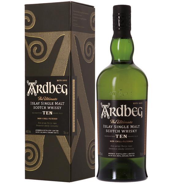 ウイスキー アードベッグ  (アードベック)  10年 46度 並行 箱付 700ml シングルモルト 洋酒