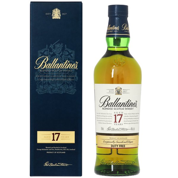 ウイスキー バランタイン 17年 40度 並行 箱付 750ml スコッチ 洋酒 whisky