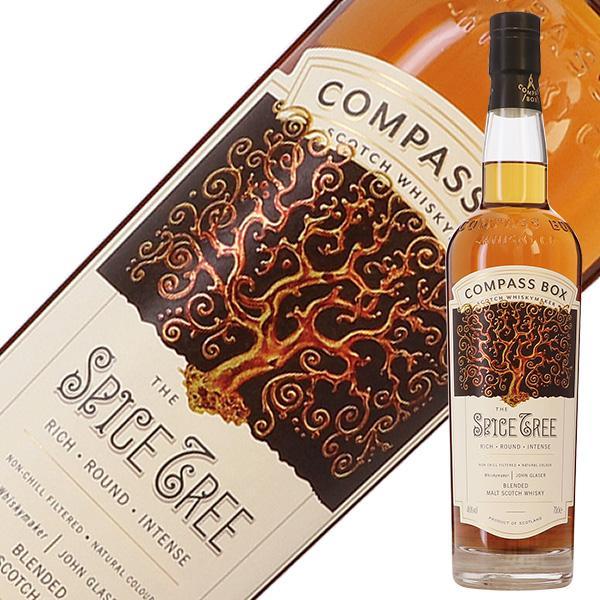 ウイスキー コンパスボックス スパイスツリー 46度 箱付 700ml ボトラーズ 洋酒
