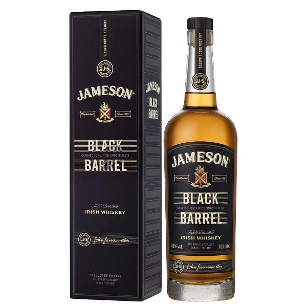 ウイスキー ジェムソン ブラック バレル 40度 正規 箱付 700ml アイリッシュ 洋酒 whisky