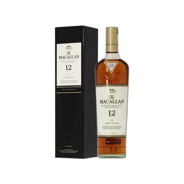 ウイスキー ザ マッカラン 12年 40度 正規 箱付 700ml シングルモルト 洋酒 whisky