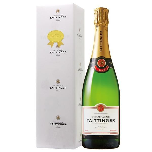 シャンパン フランス シャンパーニュ メーカー専用包装紙シールラッピング済み 専用ギフトバッグ付き テタンジェ ブリュット レゼルブ 正規 箱付 750ml