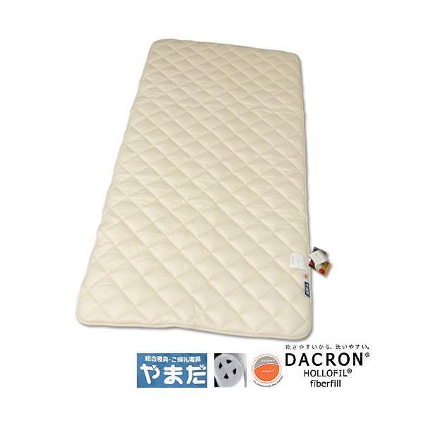 ダクロンホロフィル綿2層ベットパット (ダブルサイズ) e-futon