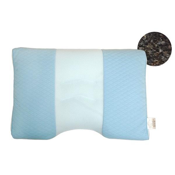 SleepMedicalやさしいまくら アーチ型そば枕 (アンミンピロー)|e-futon