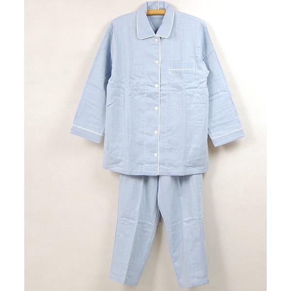 ワコール婦人 三重ガーゼシャツパジャマ YDX552 e-futon 02