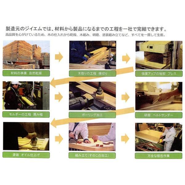 国産ひのきベッドフレーム すのこベッド Altair(アルタイル) /セミダブル|e-futon|04