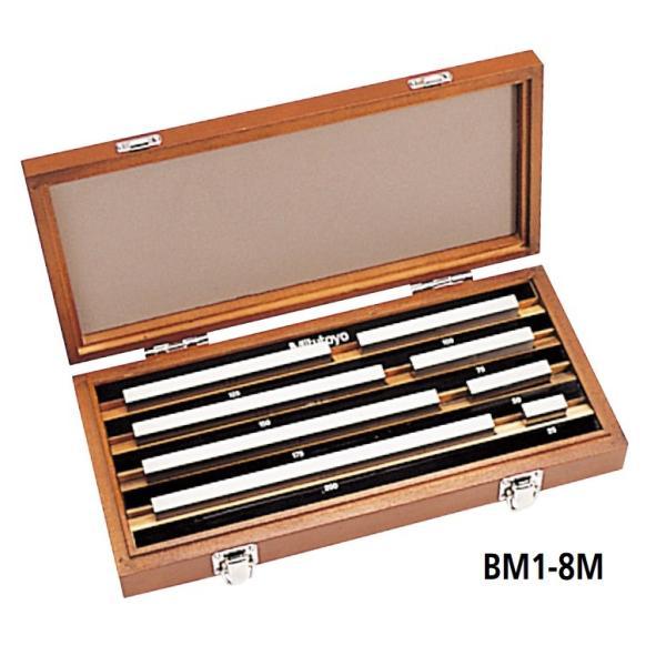 ミツトヨ 516-116 BM1-8M-1 マイクロメータ検査用ゲージブロックセット 鋼製