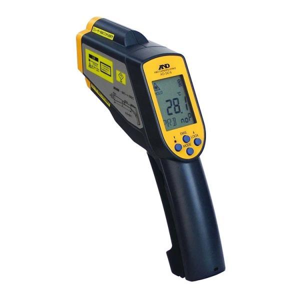 A&D AD-5616 赤外線放射温度計 -60〜+1500℃ レーザーマーカー付 デジタル